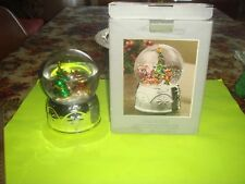 New Christmas Water Globe Music Box
