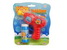 Double Bubble Bubbliser Bubbler Bubble Gun w. Solution - Summer Fun Toy