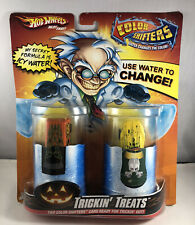 New 2009 Hot Wheels Color Shifters Halloween Edition Trickin' Treat RARE!