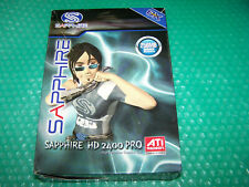 En Caja Sapphire ATi Radeon HD 2400 Pro 256MB VGA/DVI/TV-Out Tarjeta gráfica de AGP