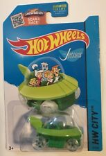 Hot Wheels 2015 HW City * THE JETSONS CAPSULE CAR * Super Fast Shipping * 12A