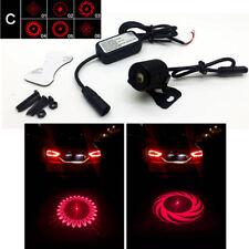 Car 6 Pattern Laser Fog Tail Warning Light Anti Rear-end Collision Brake C