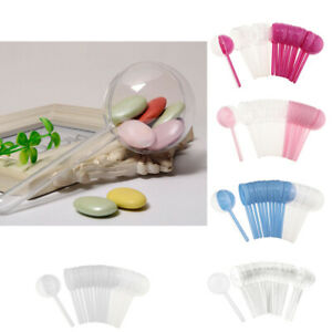 12pcs Pack Lollipops Shaped Candy Box Gift Box Baby Shower Gift Favors