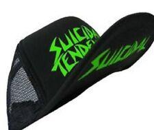 Suicidal Tendencies Trucker Hat Flip Up Cap Logo Under Bill / Green Lettering