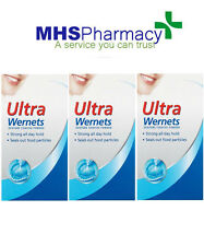 3 X Ultra Wernets Denture Fixative Powder - 40g (Previously Poligrip / Polygrip)