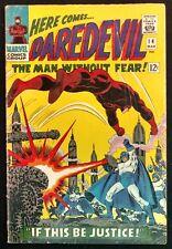 DAREDEVIL 1966 #14 VG  SOLID  PLUNDERER,EARLY KA-ZAR APPEARANCE 3PART STORY