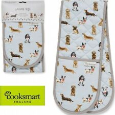 Cooksmart Oven Glove 'Curious Dogs'