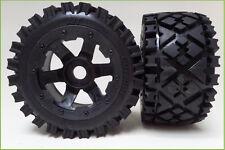 1/5 Baja Rovan 5B All Terrain Rear Tyres & Wheels HPI King Motor PRC Rovan