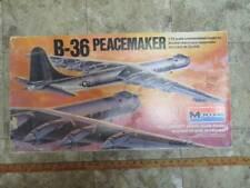 Vintage Monogram B-36 PeaceMaker 1/72 Scale Plastic Model Kit