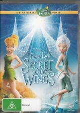 TINKER BELL AND THE SECRET OF THE WINGS -DISNEY NEW REGION 4 DVD FREE LOCAL POST