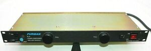 Furman PL-8 Audio Power Conditioner & Light Module with 8 AC Outlets - Free Ship