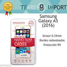 Protector Cristal Templado 0.33mm 2.5D para Samsung Galaxy A5 (2016)