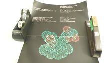 1989 Arnold Beckman Lectures Merck & Co Molecular Structure Advertising Poster
