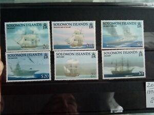 STAMPS - SOLOMON ISLANDS SG1262/7 2009 SEAFARING & EXPLORATION MNH