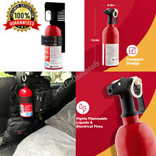 Fire Extinguisher Gasoline Oil Grease Electrical Fires Car Vehicle Garage