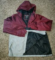 mens distortion comfort and style windbreaker pullover Size L LARGE