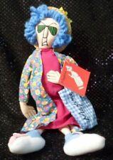 Maxine Doll Don'T Worry Be Happy Rabbit Slippers Plush Shelf Sitter Hallmark