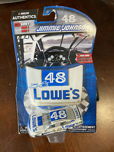 2017 Jimmie Johnson Lowes Darlington Throwback Retro 1:64 car NASCAR Authentics
