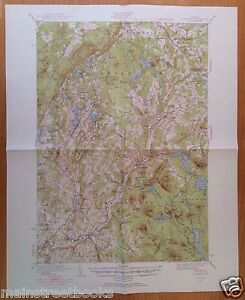 PLAINFIELD VT Groton Vermont CABOT MARSHFIELD WALDEN 1940 USGS TOPOGRAPHICAL MAP