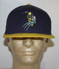 New Era Xmen Wolverine Blue Yellow Snapback Hat Cap S/M