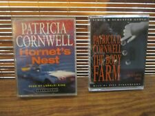 Patricia Cornwell - Hornets Nest / The Body Farm  Audio Book Cassette Tapes