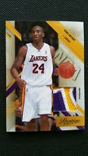 KOBE BRYANT 2010-11 PANINI PRESTIGE STARS OF THE NBA PATCH JERSEY PRIME #/10! SP