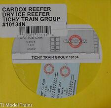 Tichy Train Group Decal #10134N-- Cardox Dry Ice Reefer (N Scale)