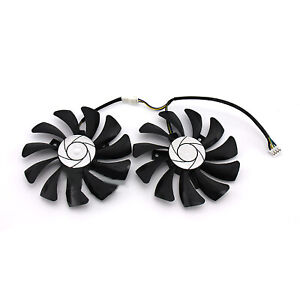 For Inno3D GTX1060 Black Gold Ares Graphic Card Cooling Fan Radiator Cooler TA