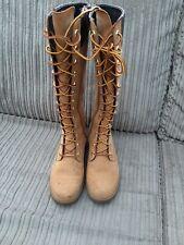 Timberland lace knee Boots  wheat Girls / Ladies uk 3.5 shoe winter waterproof