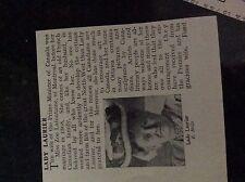 m5-2g ephemera 1912 small article lady laurier zoe lafontaine