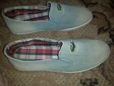 Lacoste Slip on footwear men size 42 for EU for Usa 8