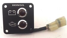 HONDA PGM-FI CHECK ENGINE/BATTERY INDICATOR LIGHT PANEL #32340-ZW7-000AH