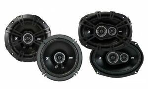 """Kicker 43DSC6504 6.5"""" & 43DSC69304 6x 9"""" Coaxial Car Audio Speaker Package"""