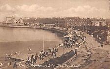 B92230 pier promenade and pavilion weymouth uk