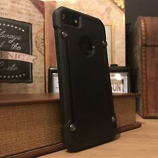 Apple iPhone 8 Genuine Rugged Commercial High Impact Reinforced Ballistic Black
