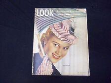 1946 APRIL 16 LOOK MAGAZINE - JOAN CAULFIELD - GREAT PHOTOS & ADS - ST 2033