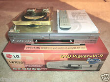 LG V8705DS DVD-Player / VHS-Videorecorder in OVP, inkl. FB&BDA, 2J. Garantie