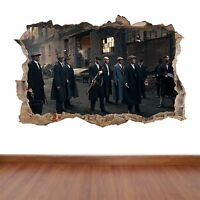 Peaky Blinders - hole in the wall full colour feature sticker decal