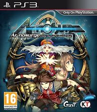 Ar Nosurge playstation 3 PS3   NUOVO !!!