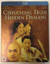 Crouching Tiger Hidden Dragon Blu-Ray Steelbook - Uk Import - Region Free