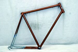 Jeunet Touring Road Bike Frame Large 59cm Vintage Steel Handbuilt France Charity