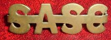 SHOULDER TITLE-ORIGINAL WW1 SOUTH AFRICAN MEDICAL CORPS EAST AFRICA 1915-1918