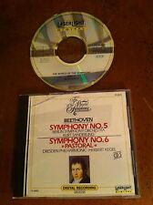 The World Of Symphony Beethoven 5 6 Berlin Dresen Philharmonic Herbert Kegel CD