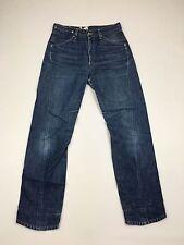"""Para Hombre Levi 835 diseñado """"trenzado"""" Jeans-W30 L32-lavado Azul Marino-Excelente Estado"""
