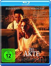 Blu-ray DIE AKTE # Julia Roberts, Denzel Washington ++NEU
