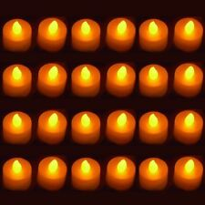 24 Flicker Wedding Party Light sin llama LED Tealight Decoración té Velas