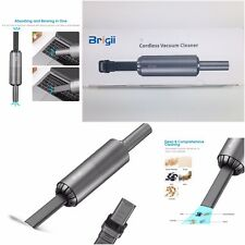 Brigii Cordless Vacuum Cleaner and Dust Blower 2 in 1 USB Rechargeable Dark Gray