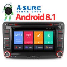 7 Zoll Android 8.1/8.0 CD DVD GPS DAB+ UKW Autoradio Navi OPS Für VW Golf Polo