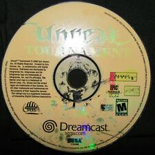 Unreal Tournament for Sega Dreamcast - Tan Disc