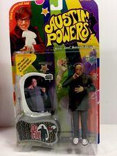 Vintage Austin Powers Dr. Evil Cool Action Figure Voice Chip Cat 1999 New Sealed